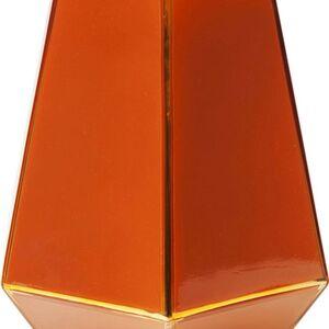 Červená skleněná váza Art Pastel 21cm
