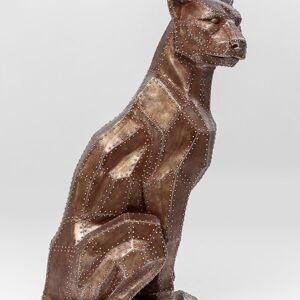 Soška Panter sedící Bronzová 82cm