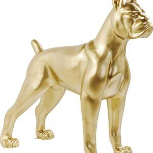 Socha Pes Doga Toto Zlatý 180cm