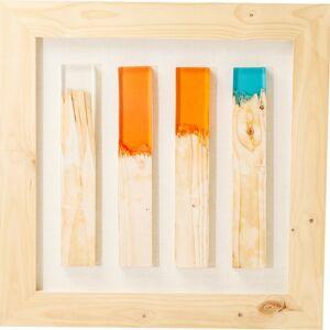 Dekorativní rámeček Match 90x90 cm - barevný