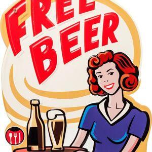 Nástěnná dekorace Free Beer