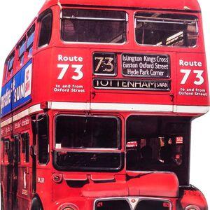 Nástěnná dekorace Tottenham Bus