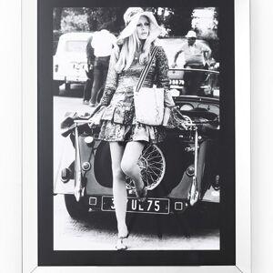 Obraz s rámem French Diva 120×90 cm