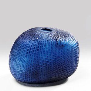 Váza Harakiri Blue 23 cm