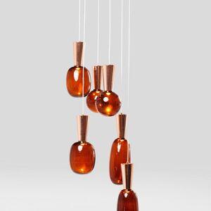 Závěsná lampa Glass Goccia LED
