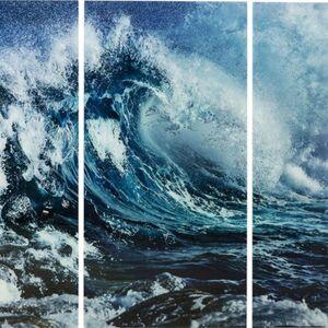 Vícedílný obraz Vlna v bouři