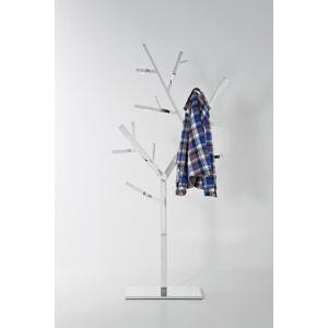 Stříbrný stojací věšák Technical Tree