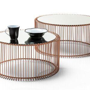 Konferenční stolek Wire Copper (2/Set)