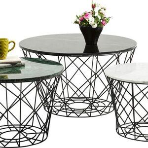 Konferenční stolek East Round (3/Set)