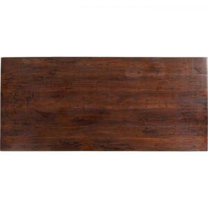 Stolová deska Tavola Walnut Schweizer Kante 180x90cm