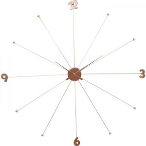 Nástěnné hodiny Like Umbrella Rose Gold
