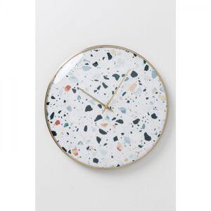 Nástěnné hodiny Terrazzo O 40 cm