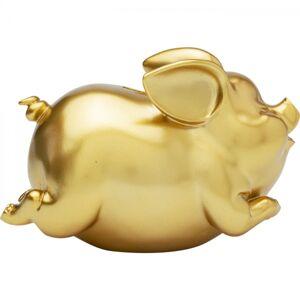 Pokladnička Pig - zlatá