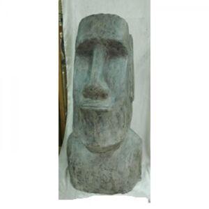 Socha Hlava Moai Velikonoční ostrovy 123cm