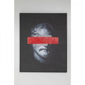 Obraz s rámem Incognito Philosophy 100x80cm