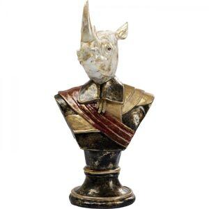 Socha Busta Nosorožec Sir Rhino 97cm
