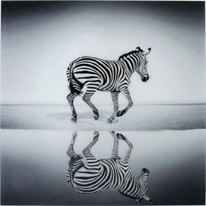 Skleněný obraz Savanne Zebra 120x120cm