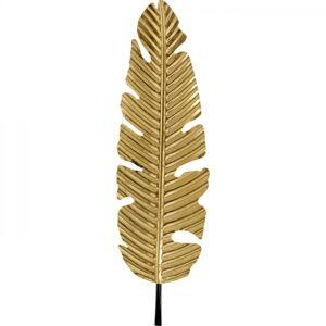 Dekorace na zeď Leaf Gold 92cm