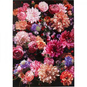 Ručně malovaný obraz Flower Bouquet 200x140cm