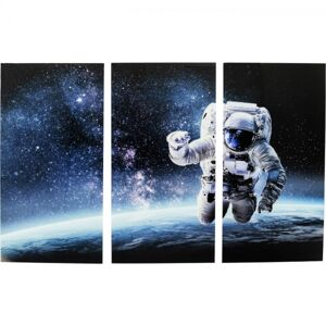 Obraz Triptychon Triptychon Man in Space