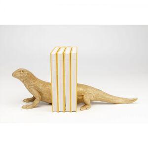 Zarážka na knihy Lizard - set 2 ks