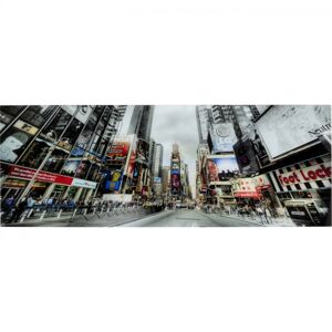 Skleněný obraz New York Broadway Avenue 160x60cm