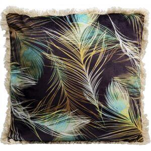 Dekorativní polštář Paví pera 45x45cm