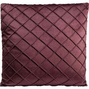 Dekorativní polštář Frederica Bordeaux 45x45cm
