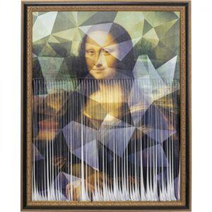 Obraz v rámu Mona Lisa alá Banksy 163x130cm