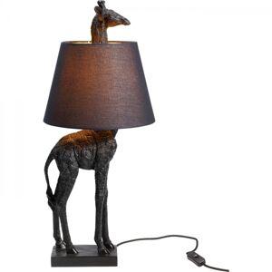 Stolní lampa Žirafa Černá 71cm