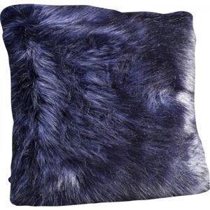 Polštářek Ontario Fur - černý, 60×60 cm