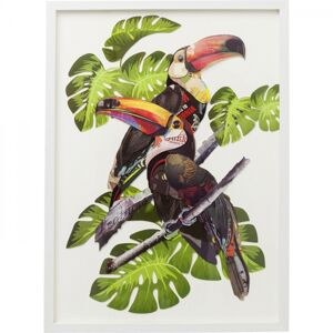 Obraz Frame Art Paradise Bird Couple 70×50 cm
