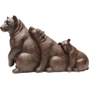 Soška Medvědí rodinka 32cm