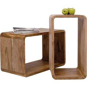 Set dvou odkládacích stolků Authentico Cube