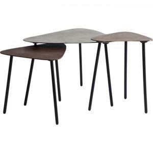 Konferenční stolek Loft Triangle Vintage (3/Set)