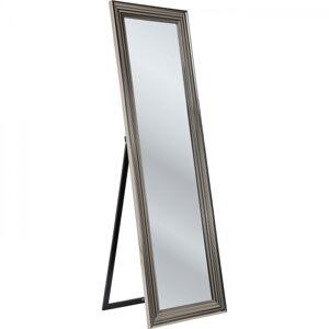 Stojací zrcadlo s rámem  Silver 180x55cm