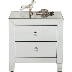 Noční stolek Luxury se dvěma zásuvkami