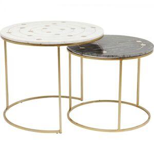 Odkládací stolek Mystic Round Small - set 2 ks