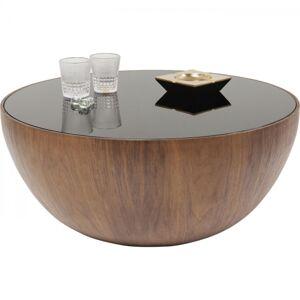 Konferenční stolek Tear Drops Walnut O80 cm