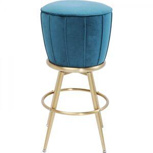 Tyrkysov čalouněná barová stolička After Work