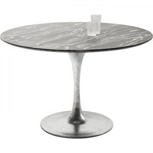 Stůl Invitation Set Ebony O 120 cm - zinek