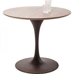 Stůl Invitation Set Walnut O 90 cm - rezavý