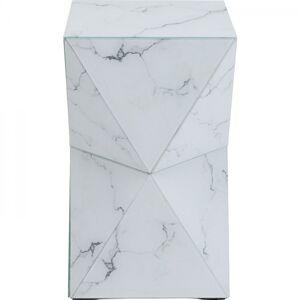 Odkládací stolek Luxury Triangle Marble
