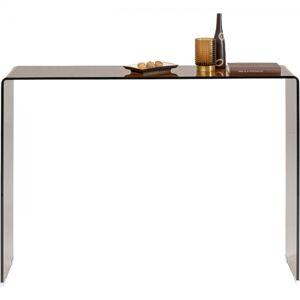 Konzolový stolek Visible - jantarový, 120cm