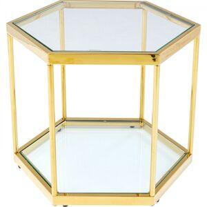 Konferenční stolek Comb - zlatý