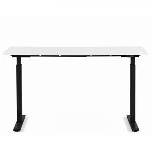 Pracovní stůl Office Smart - černý, bílý, 160x80