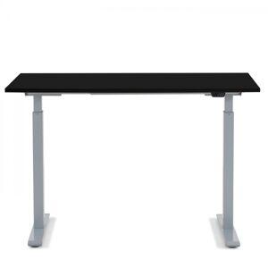 Pracovní stůl Office Smart - šedý, černý, 120x70