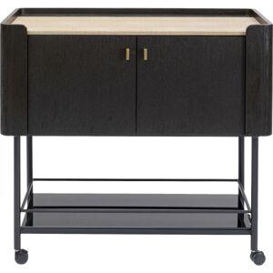 Servírovací stolek se skříňkou Milano 97x50cm