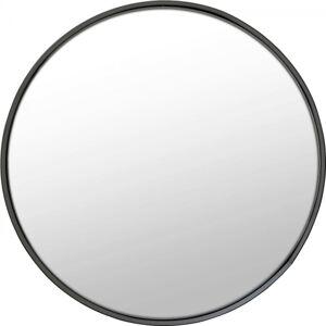 Kulaté zrcadlo Ombra Soft Černé 60Ocm